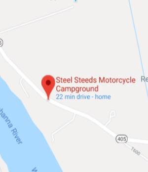 steel steeds footer map